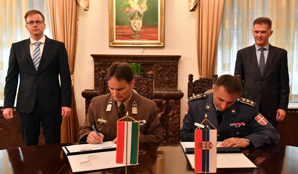 Потписан План билатералне војне сарадње између Србије и Мађарске