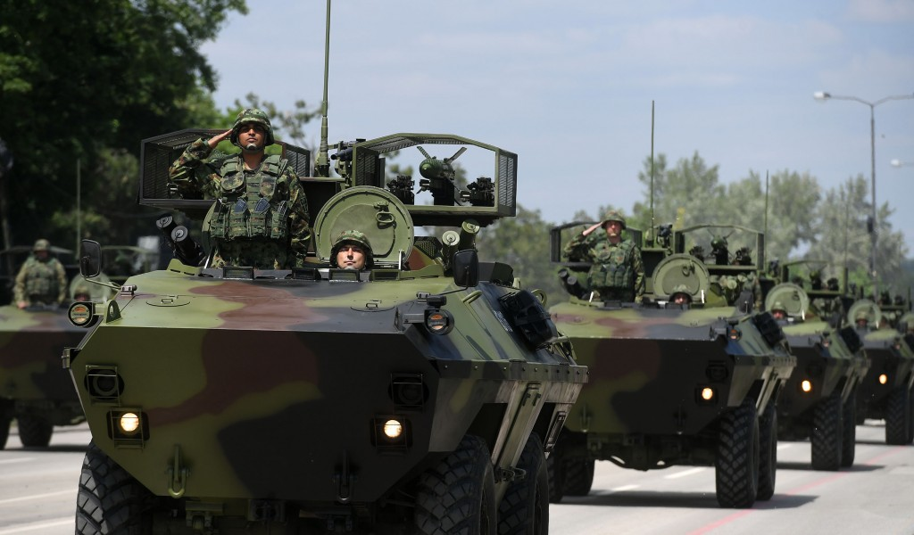 General Rehearsal of the Demonstration of Capabilities of the Serbian Armed Forces and the Ministry of Interior Defence of Freedom
