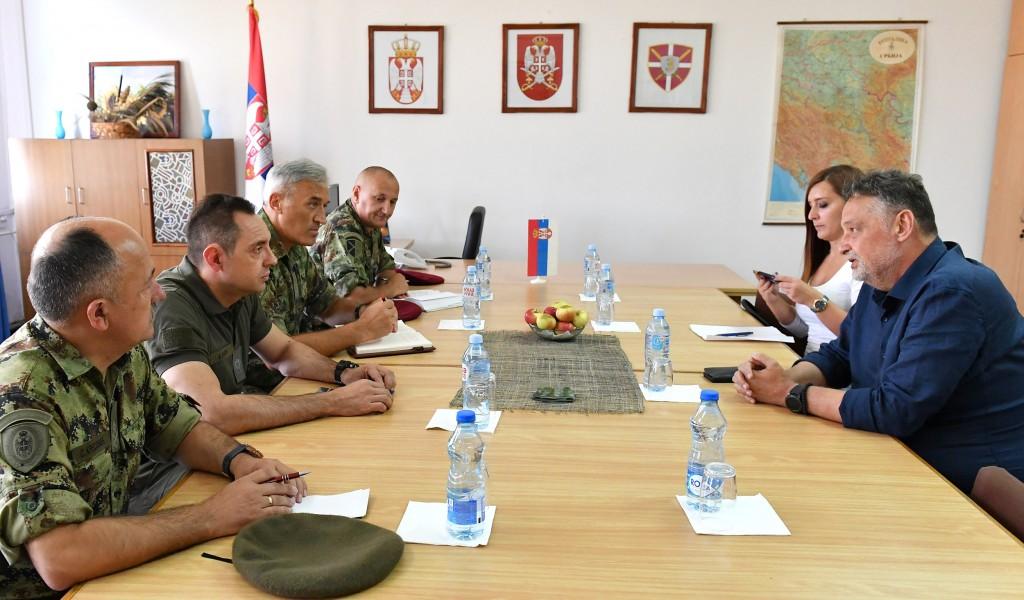 Састанак министра Вулина са градоначелником Зајечара
