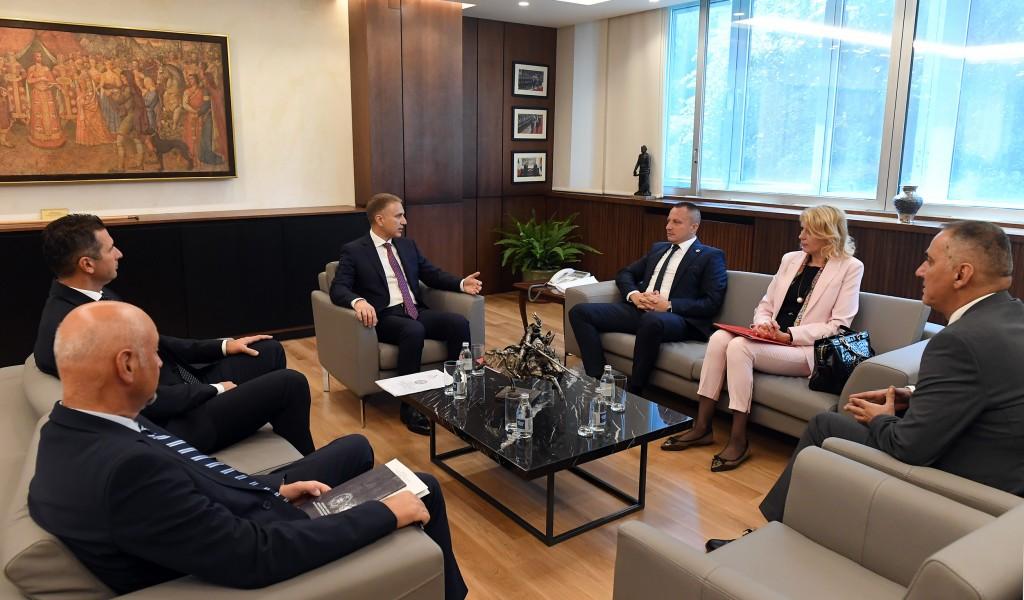 Meeting between Minister Stefanović and Republika Srpska s Minister of Economy Petričević