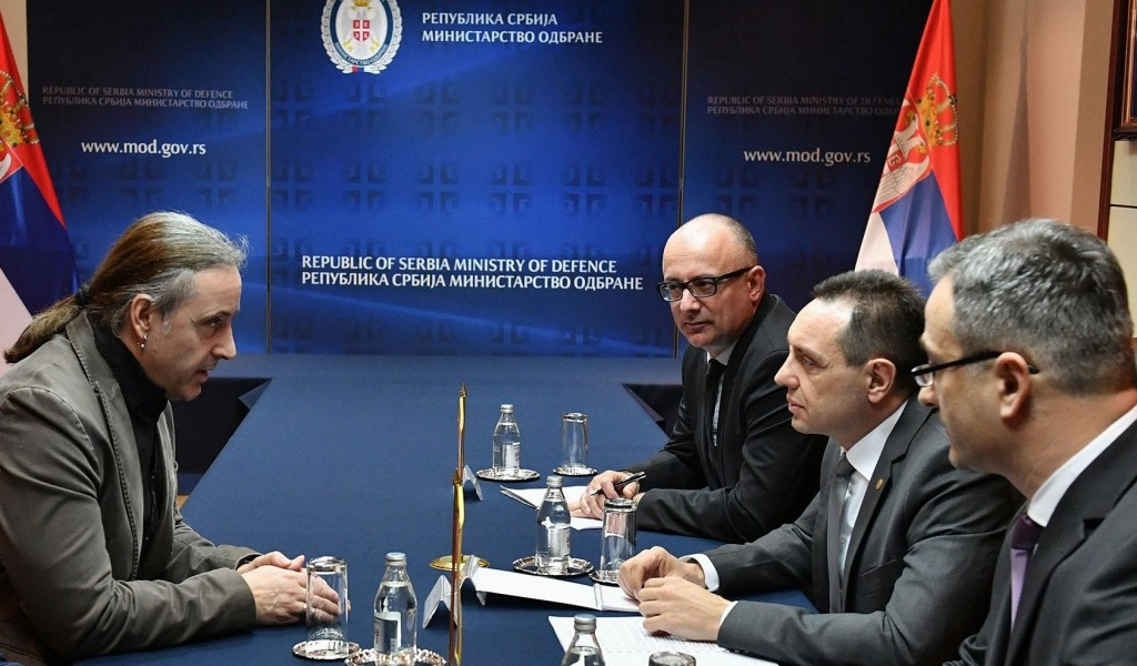 Sastanak ministra Vulina sa poslanikom Bundestaga Nojem