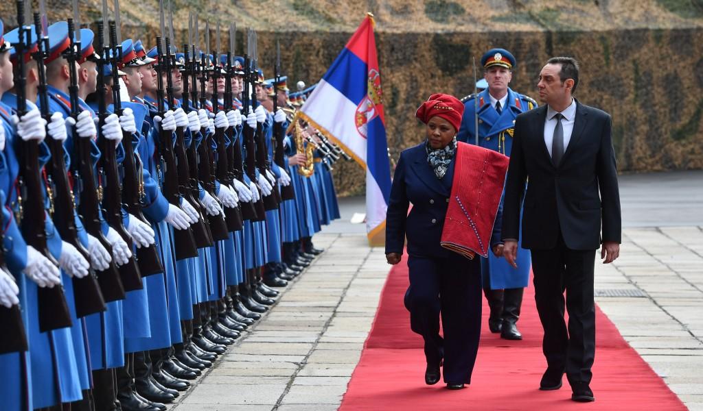 Министар Вулин Јужна Африка је увек била уз Србију