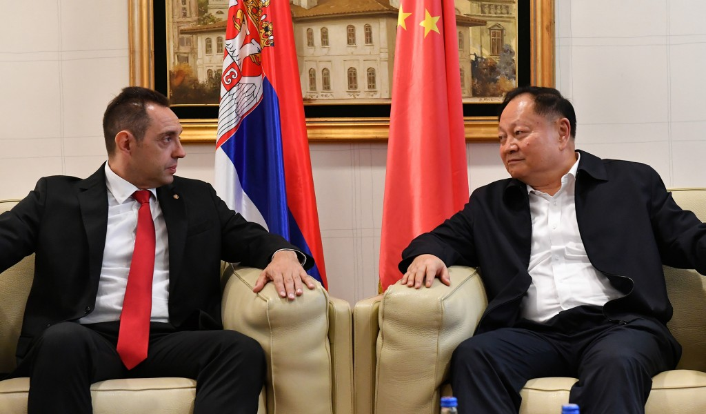 Vice Chairman of Central Military Commission of the People s Republic of China arrives in Serbia for official visit