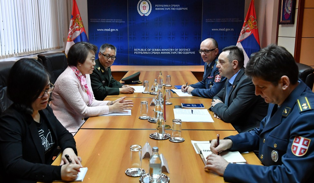 Minister Vulin meets newly appointed Ambassador of the People s Republic of China Ms Chen Bo