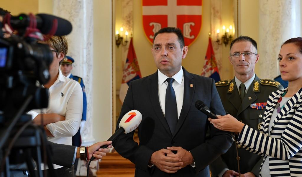 Министар Вулин Док Вучић води Србију бићемо војно неутрални