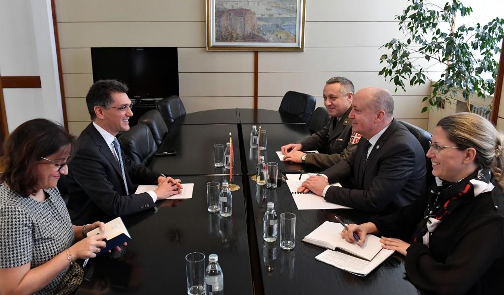 Састанак државног секретара Живковића и амбасадора Краљевине Мароко