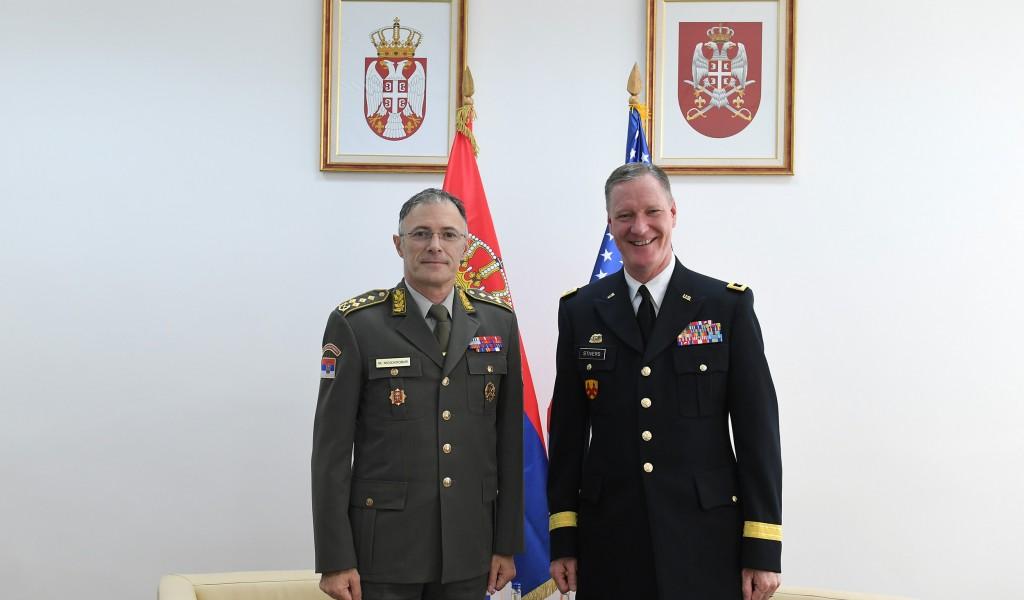 Састанак начелника Генералштаба са помоћником команданта Националне гарде Охаја