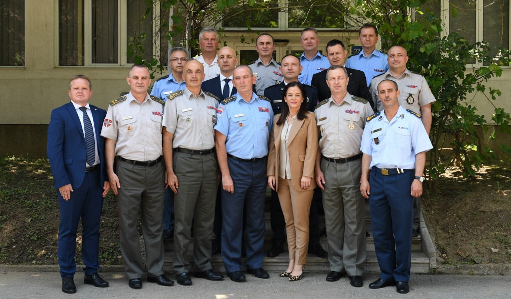 Certificates Conferred to Attenders of the Ninth Class of Advance Security and Defence Studies