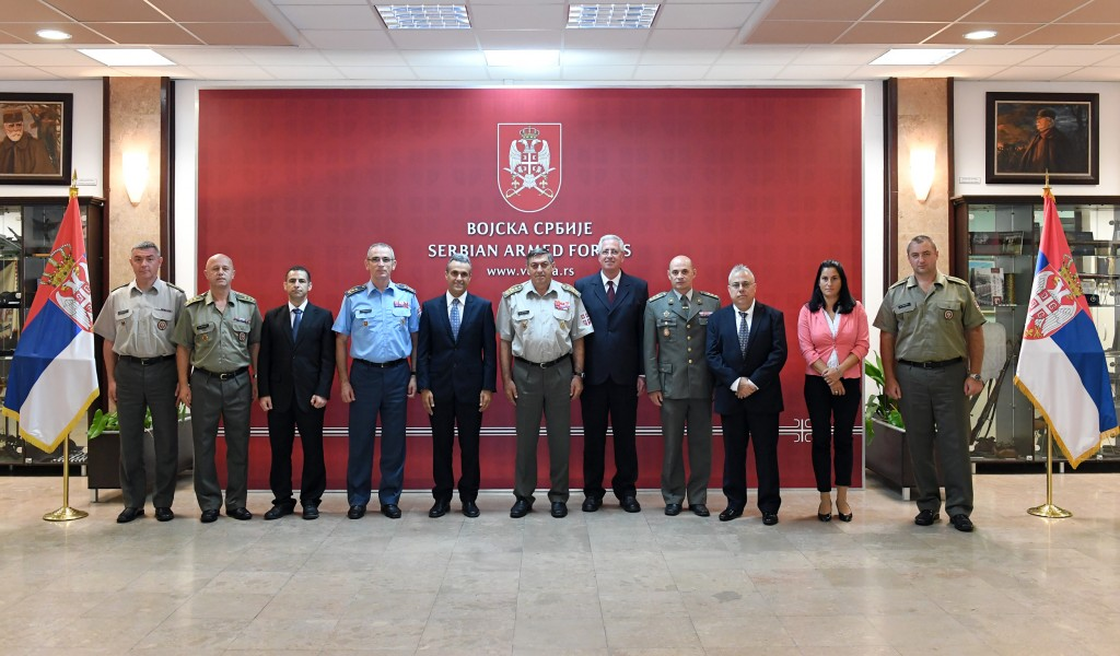 Visit from a Delegation of General Inspectorate of Defence System of Israel