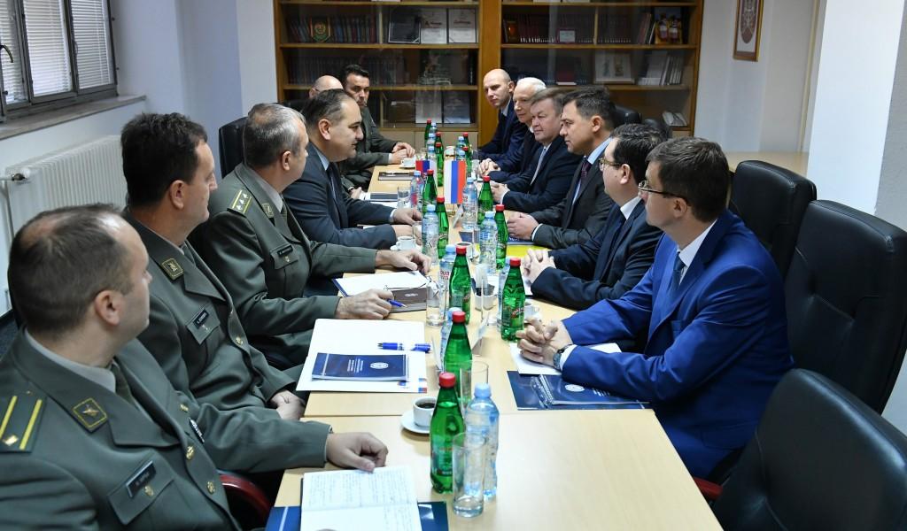 Посета делегације Руске Федерације Сектору за буџет и финансије