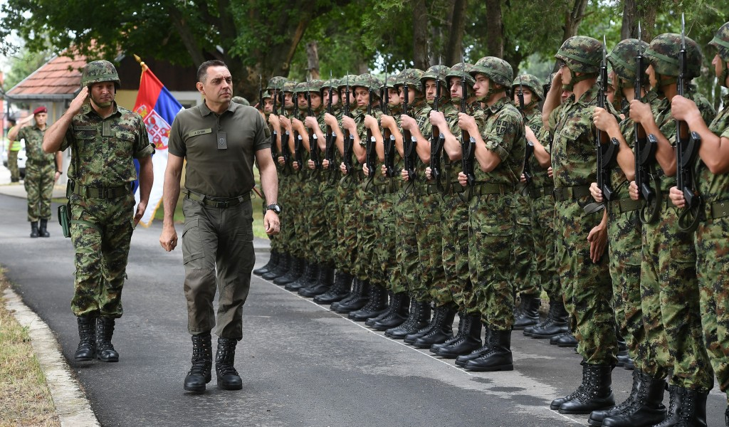 Minister Vulin Serbian Armed Forces are developing all capabilities