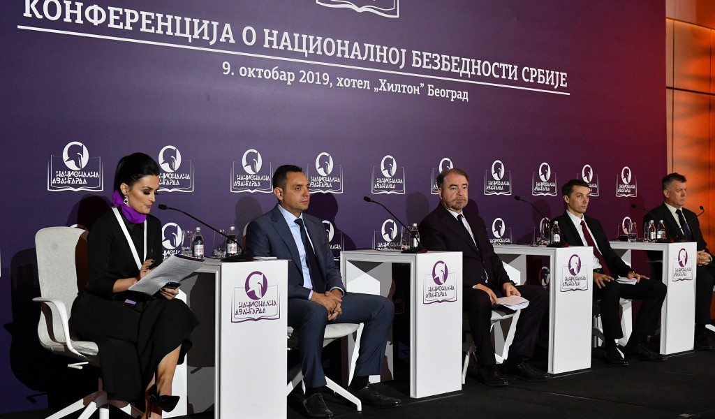 Minister Vulin The biggest security challenges Greater Albania and the ideology according to which the Serbs should live only in Serbia