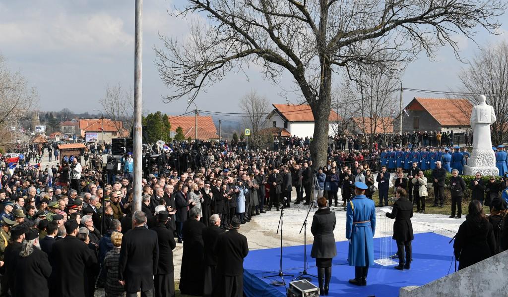 Централна прослава Дана државности Србије у Орашцу