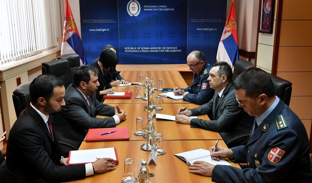 Састанак министра одбране са замеником министра спољних послова Венецуеле