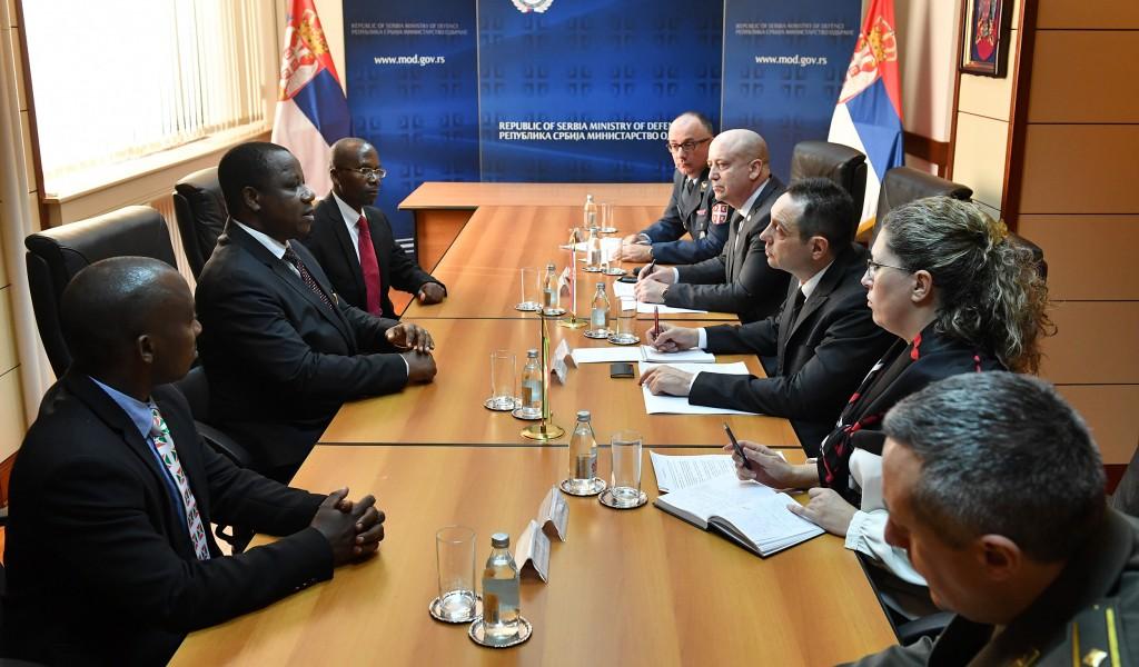 Razvoj saradnje Srbije i Burundija u oblasti odbrane