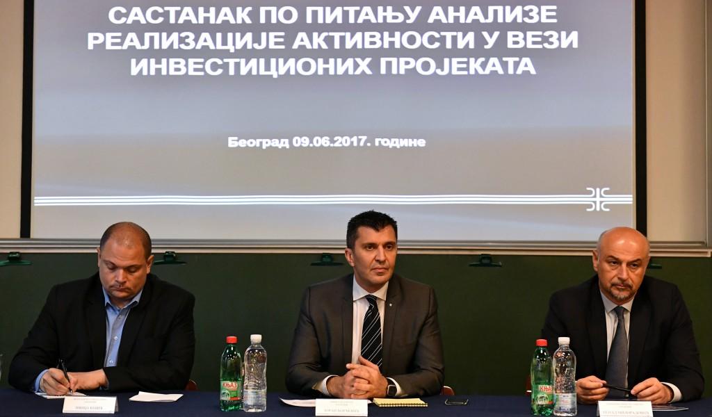 Састанак са директорима предузећа Одбрамбене индустрије Србије