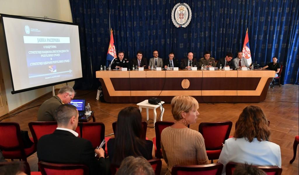 Javna rasprava o značajnim strateškim dokumentima Republike Srbije