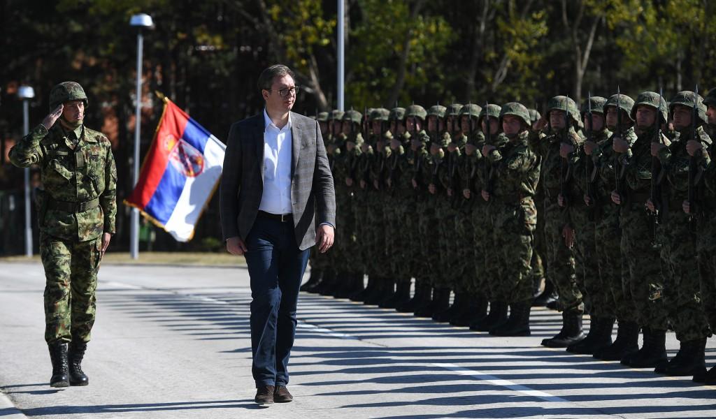 Председник Вучић Војска Србије увек је била одраз снаге Србије