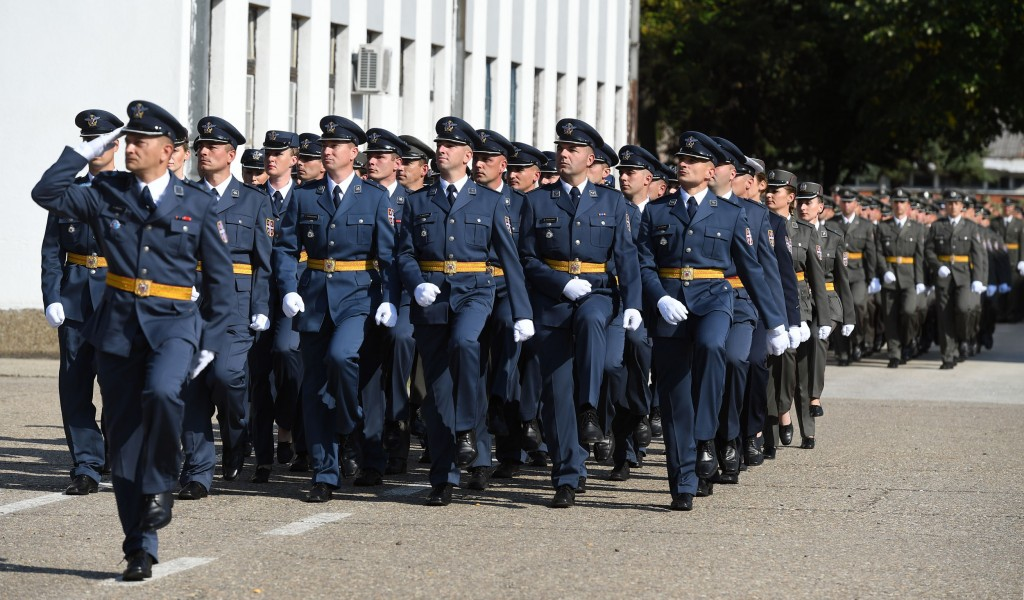 Open competition for the admission of 100 NCOs to the Air Force and Air Defence