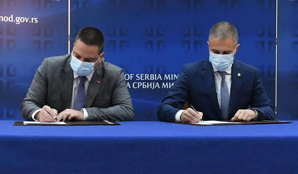 Потписан Споразум између Министарства одбране и Министарства просвете науке и технолошког развоја