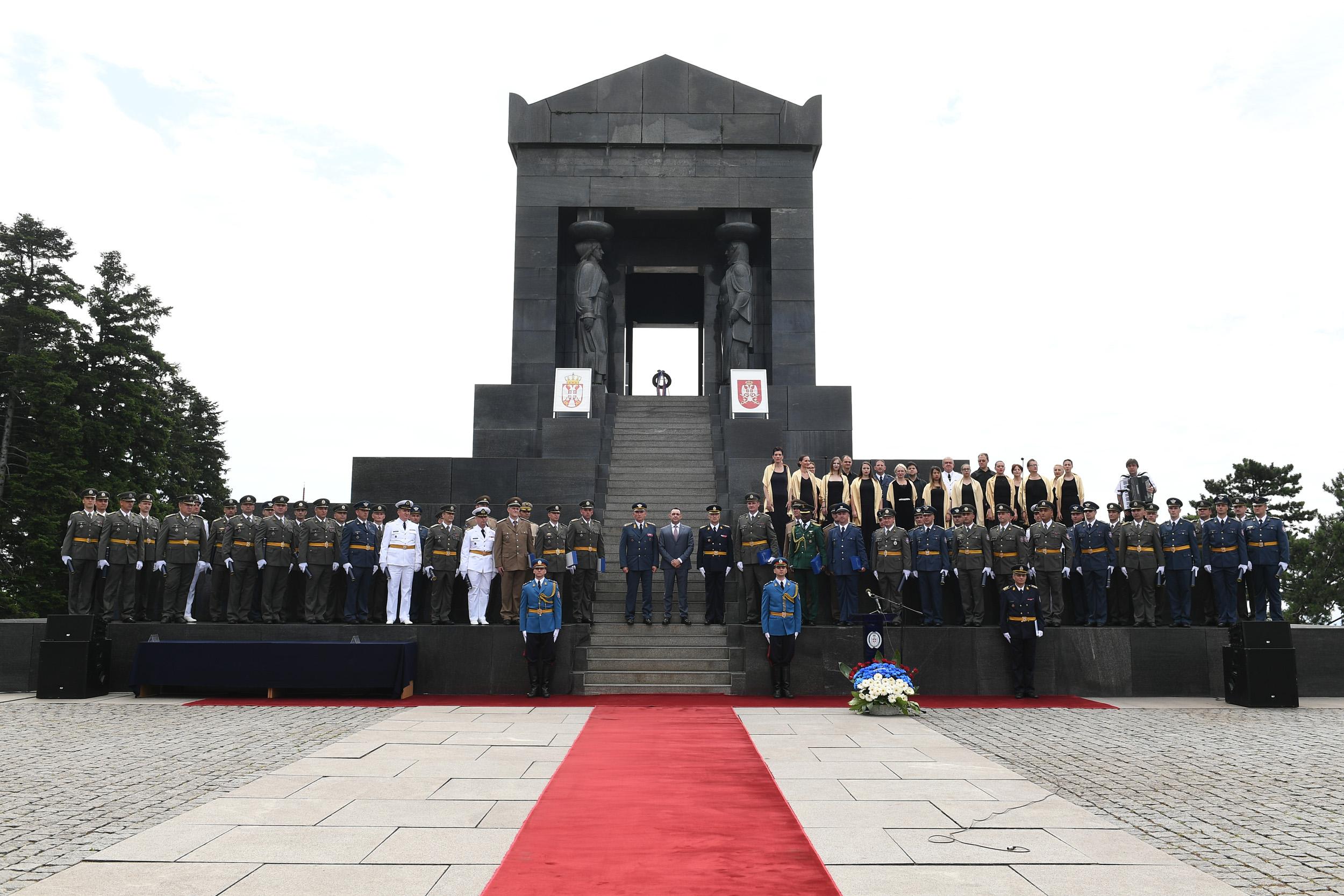 Svečanost povodom završetka Komandno štabnog usavršavanja oficira 65 klase
