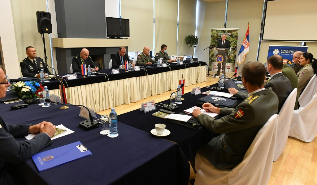 Opening of the Central European Forum on Military Education