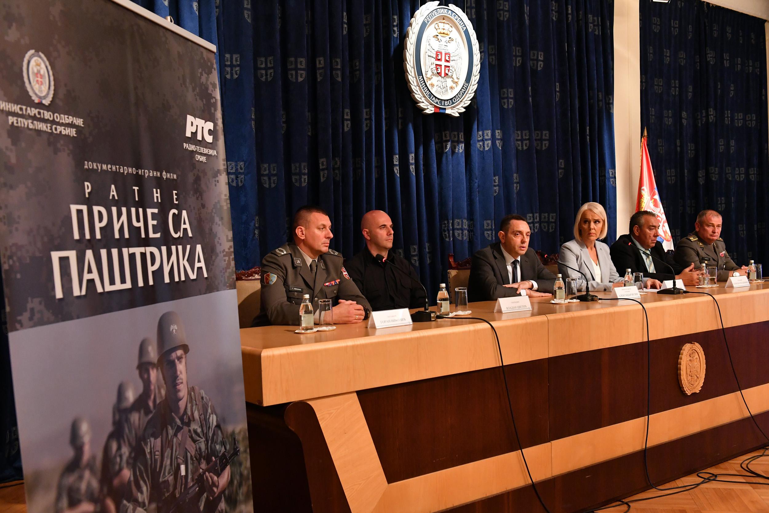Министар Вулин Битка на Паштрику је пример војничке снаге вештине храбрости и победе