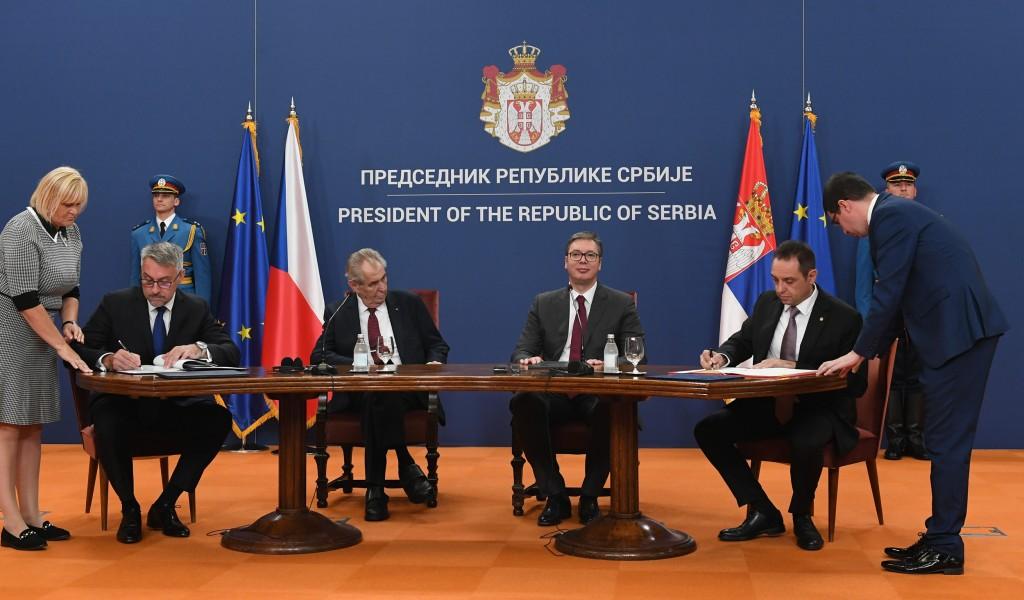 Председник Вучић Разговор са искреним пријатељем наше земље