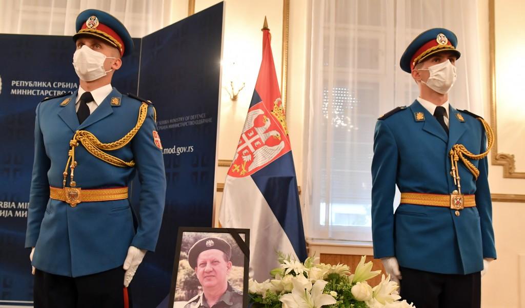 Commemoration for General Zoran Stanković MD