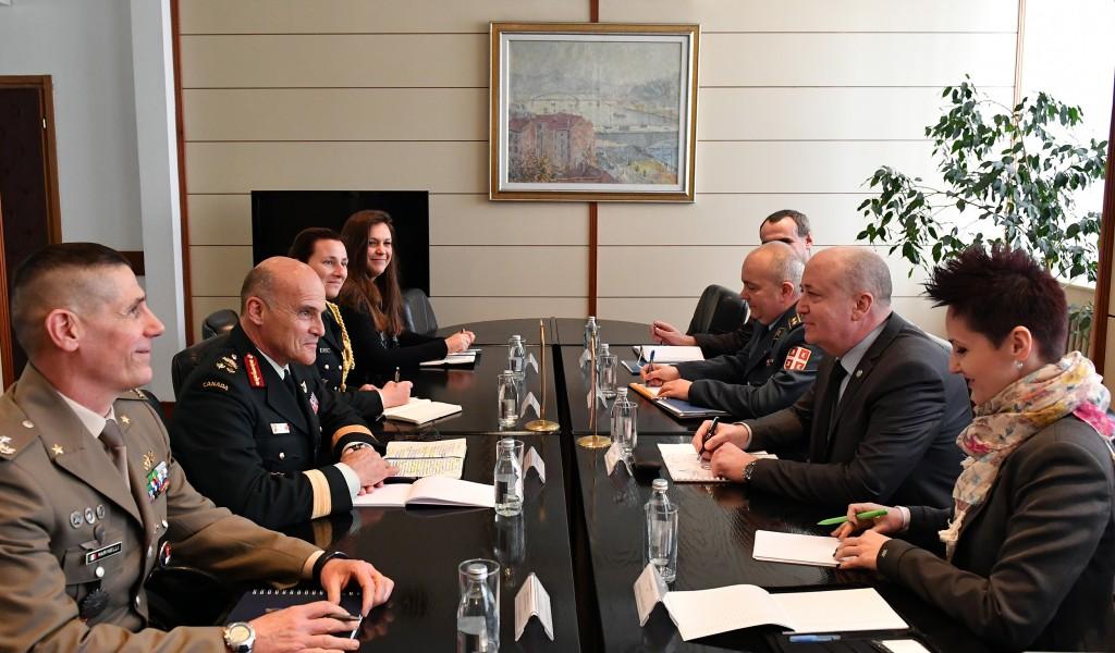 Sastanak državnog sekretara Živkovića sa generalom Žunoom