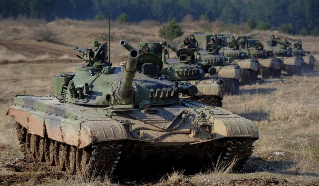 Тактичка вежба са бојевим гађањем 15 тенковског батаљона
