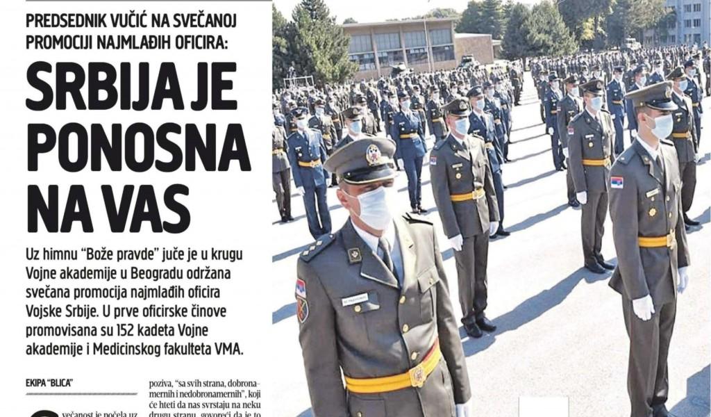 Srbija je ponosna na vas