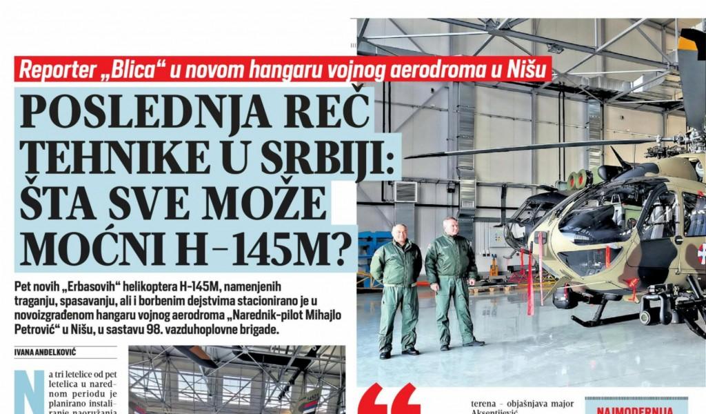 Последња реч технике у Србији Шта све може моћни Х 145М