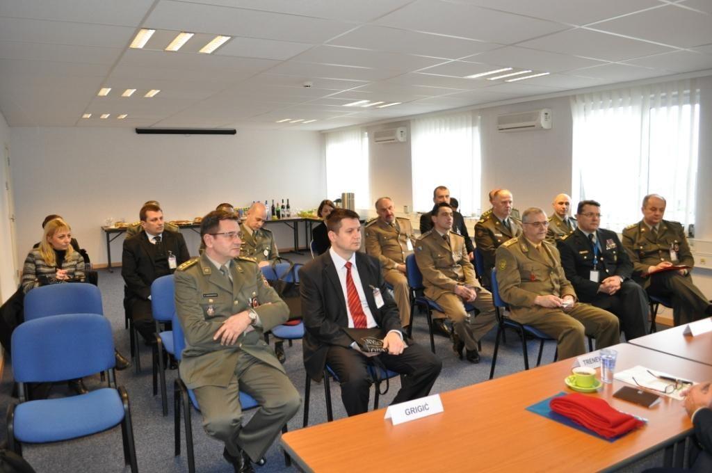 Посета треће класе ВСБО Бриселу