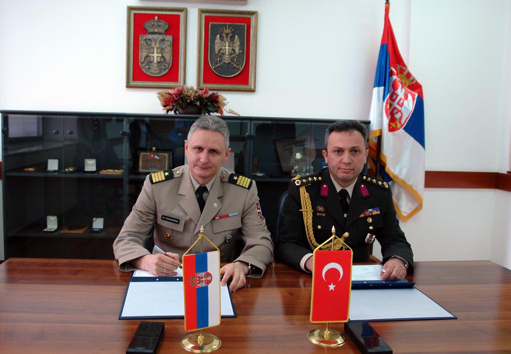 Унапређење сарадње са Републиком Турском