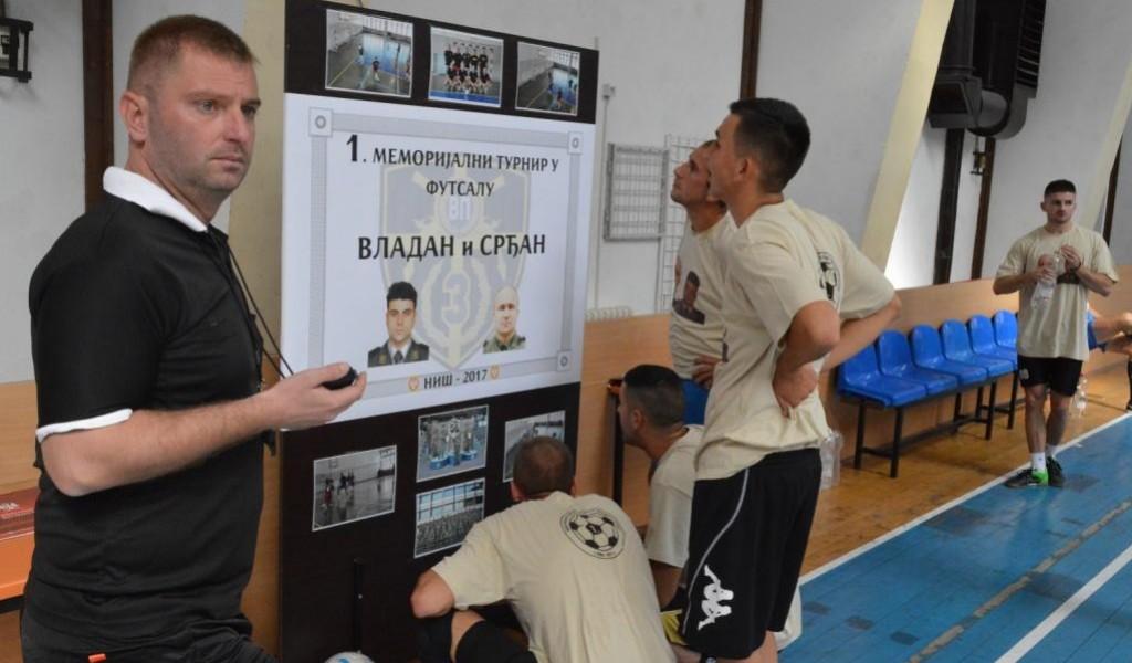 Први меморијални турнир у футсалу Владан и Срђан