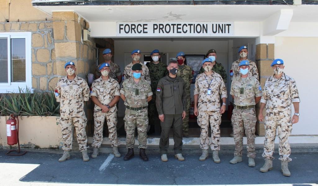 В Д помоћника министра Бандић у посети мисији УН на Кипру