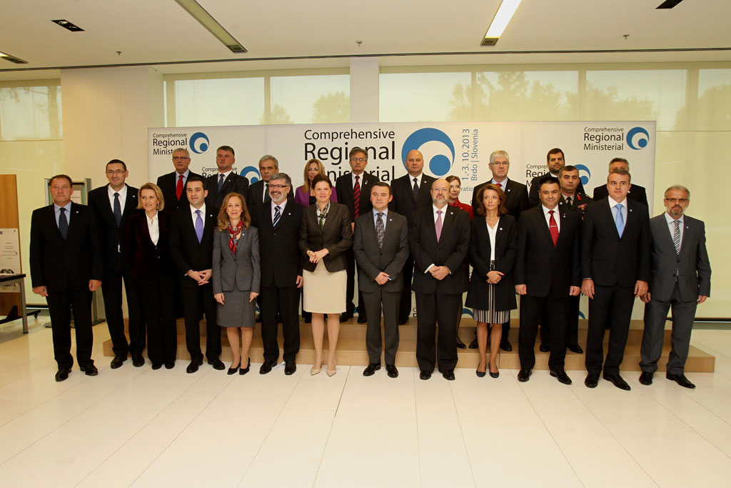 Minister Rodic at SEE Defence Ministerial