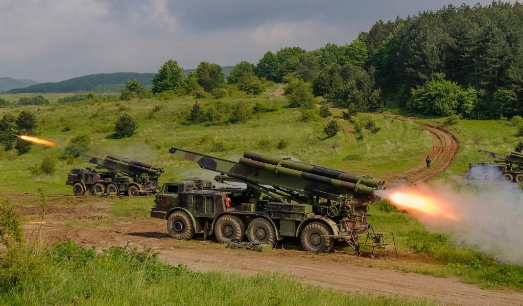 Вежба Мешовите артиљеријске бригаде Ватрени скок 2017