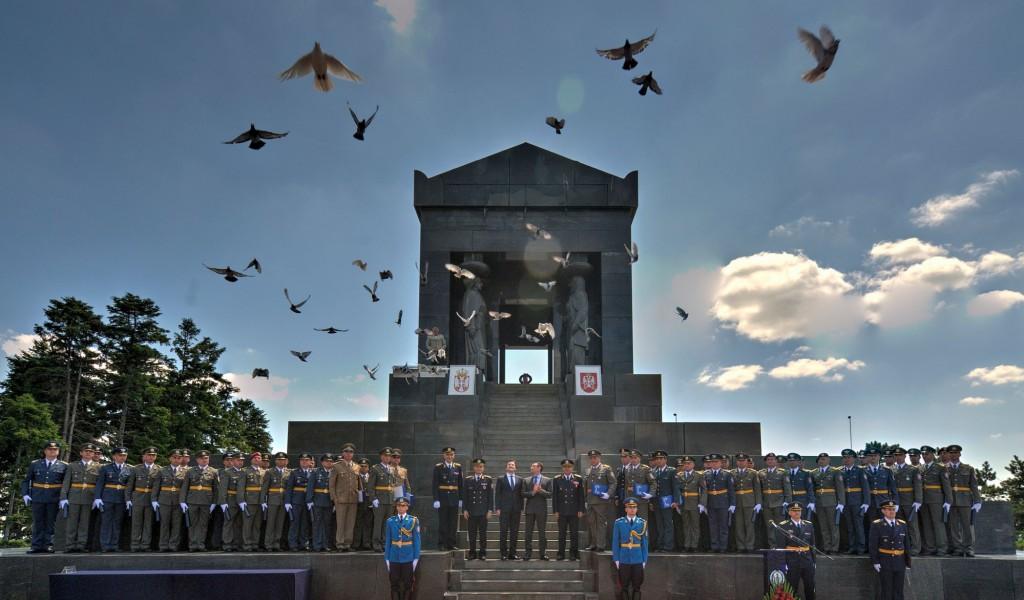Svečanost povodom završetka školovanja oficira 63 klase KŠU