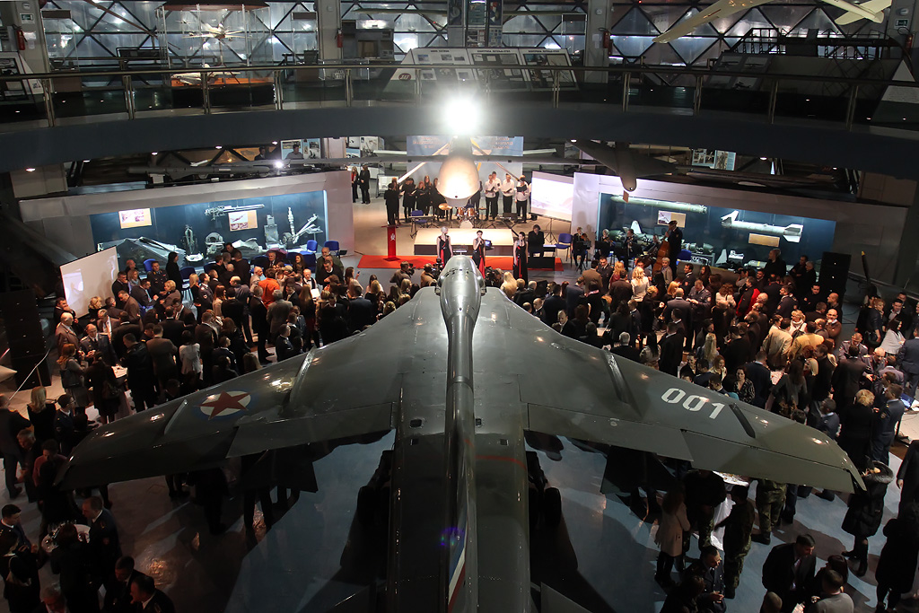 Svečanost u Muzeju JRV povodom Dana 204 vazduhoplovne brigade