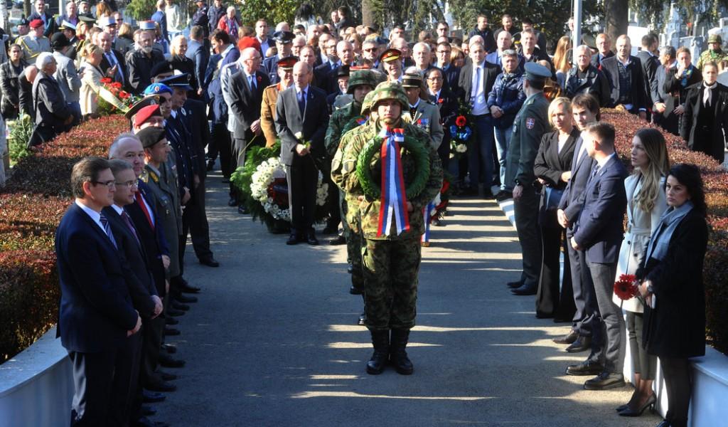 World War I Armistice Centennial Ceremony marked