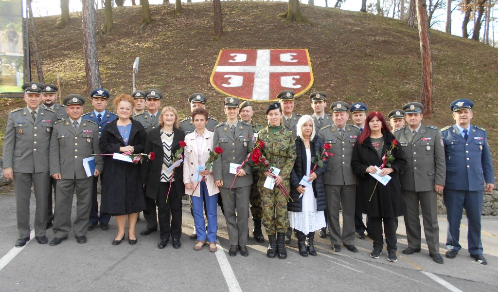 International Women s Day marked by the Ministry of Defense and the Serbian Armed Forces