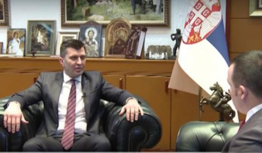 Интервју министра одбране за емисију Дозволите