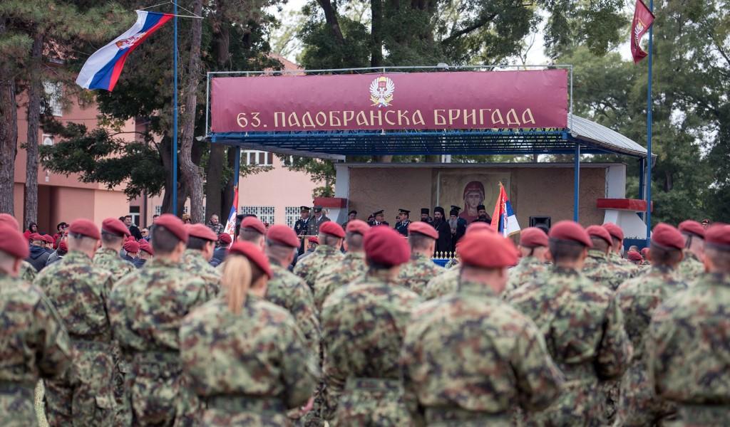 Обележавање Дана 63 падобранске бригаде