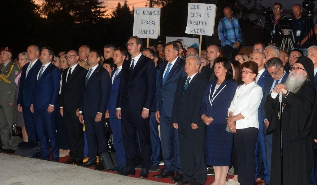 Председник Вучић Никоме нећемо дозволити да изврће историју и од жртве прави џелата