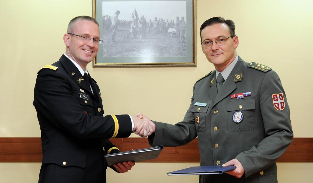 Потписан План билатералне војне сарадње са Европском командом Оружаних снага САД