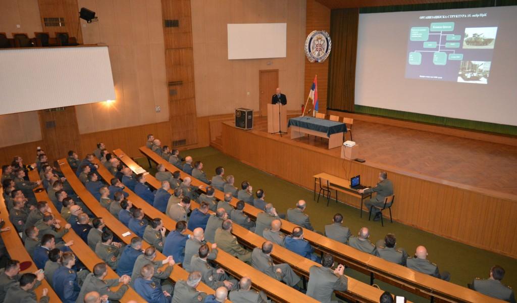 Предавање генерала Ћирковића у Војној академији