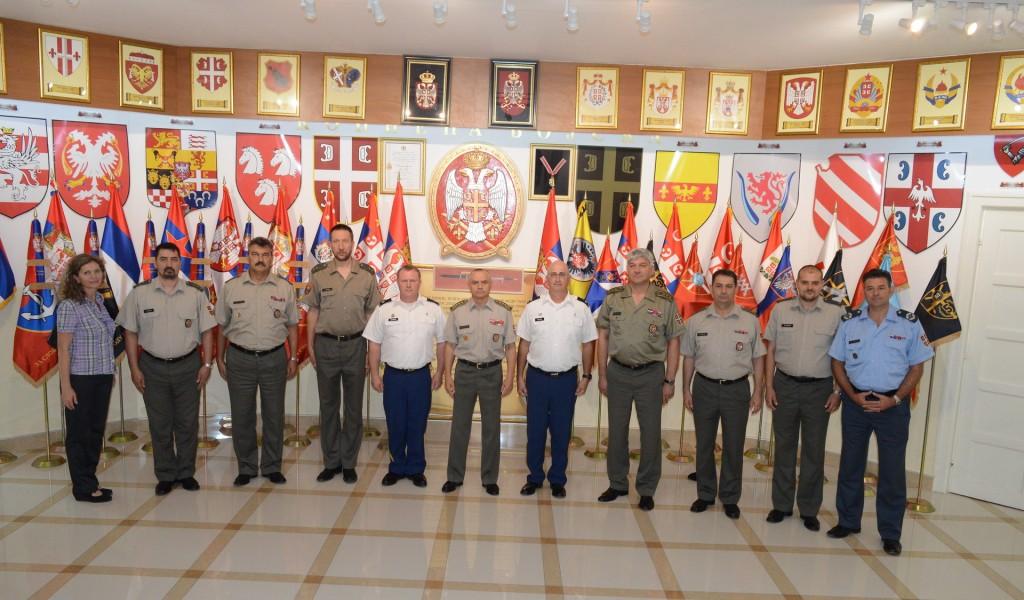 Делегација верске службе Националне гарде Охајо у Команди Копнене војске