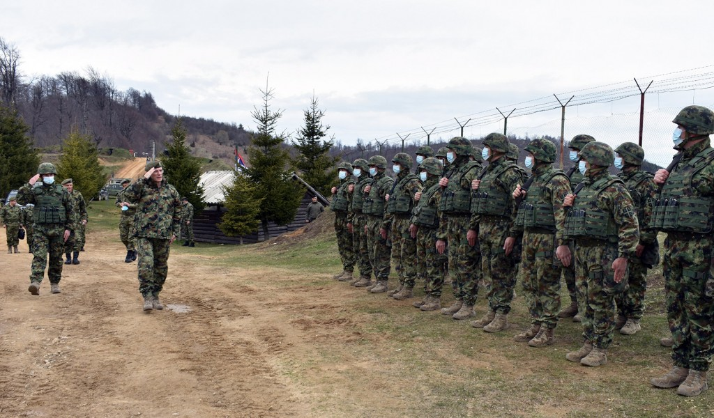 Obilazak dela jedinica Vojske Srbije u garnizonu Vranje